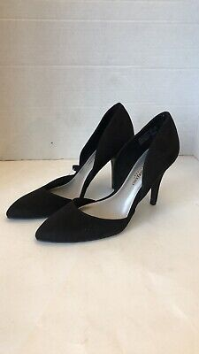63c9eb41e6d1 Christian Siriano For Payless Black Women s High Heels Pointed Pumps Size  7.5