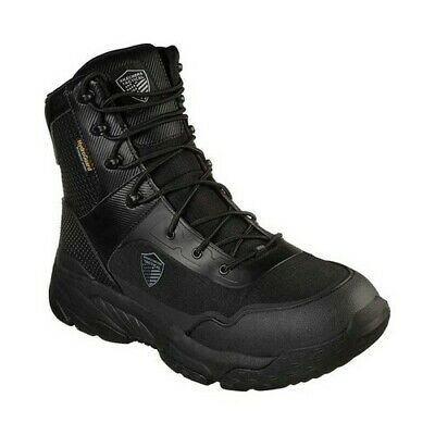 c716805650c SKECHERS 65157 FORMAT EDGIN Men's Outdoor Boots Relaxed Fit Black ...