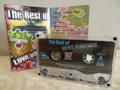 Various The Best Of Love Parade / 1997 /  MC, CASSETTE INFLUENCE, DAVID ON