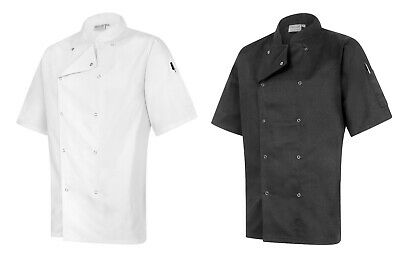 Proluxe Chef Jacket Short Sleeved - Kitchen Catering Uniform - Modern Fit