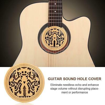 """Guitar Sound Hole Cover Block Protector for 41"""" Acoustic Folk Guitar Replacement"""
