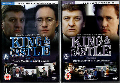 KING & CASTLE the complete series 1 one & 2 two. 4 discs. New and sealed DVD.