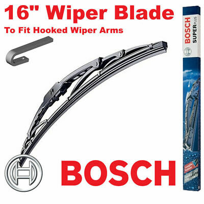 "Bosch 16"" Inch Super Plus Universal Wiper Blade SP16 For Hooked Wiper Arms"