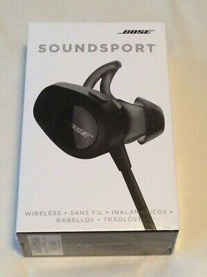BRAND NEW Bose SoundSport Wireless Bluetooth Headphones - Black