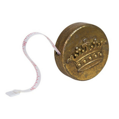 Mini Tape Measure- Antique Gold