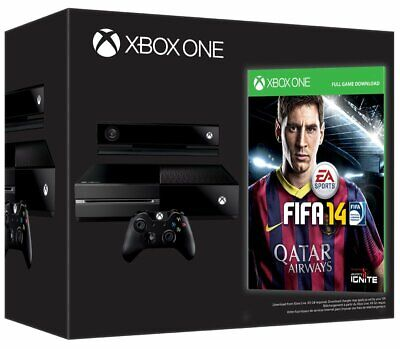 Brand New & Sealed - Xbox One - Day One 2013 Edition With Kinect & Fifa 14  Rare