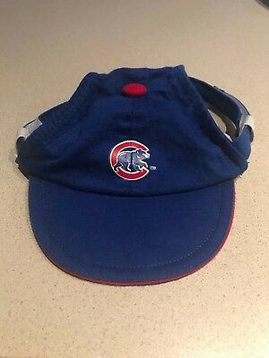 Chicago Cubs Pet Dog Cat Hat Cap XS Extra Small MLB Baseball Sporty Paws 2 Avail