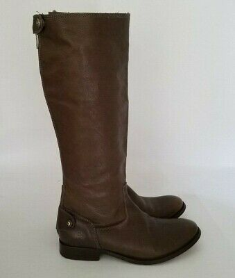 2c24d99168f Frye Womens Melissa Button Back Zip Knee-High Brown Riding Boots Size 7.5  7.5B