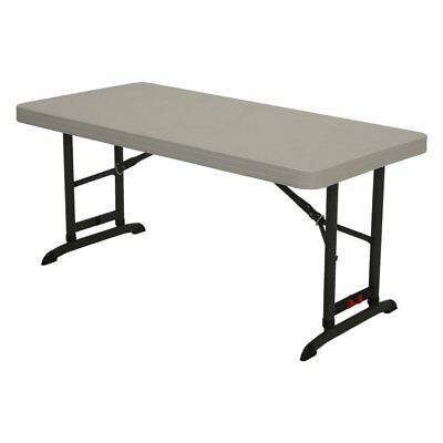 Lifetime Products 4 Ft Commercial Adjustable Folding Table