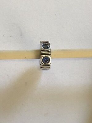Authentic Pandora Northern Lights Trinity Blue 790368czb Retired ALE 925 Silver