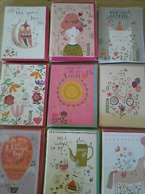 50 chill cards, wholesale joblot greeting cards