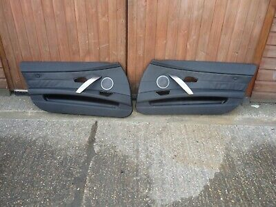 GENUINE BMW Z4 E85 OS NS Interior Door Panels  BLACK
