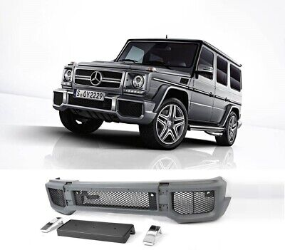 Mercedes-Benz G Class W463 G65 G63 AMG Look Front Bumper PDC With Metal Frame