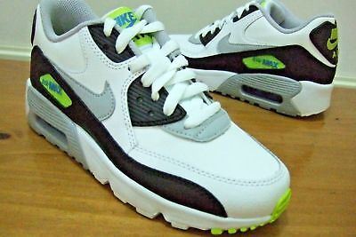 on sale b0e63 359ff Nike Air Max 90 Boys Shoes Trainers Uk Size 4 - 5.5 833412 113