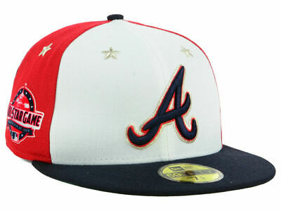 7e2c7d63 New Era MLB All Star Game On Field 59Fifty Fitted Hat Atlanta Braves Pick  Size