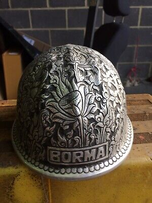 Silver McDonald T Mine Safety Personalised BORMA Hard Had