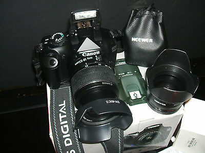 Canon EOS 1100D 12.2 MP Digital SLR Camera - WITH THREE LENSES EF-S 18-55mm...