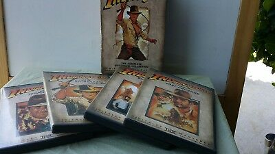 The Adventures of Indiana Jones: The Complete DVD Movie Collection Full Screen