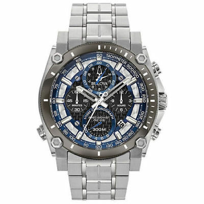 Bulova 98B316 Men's Chronograph Precisionist Stainless Steel Watch