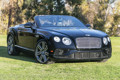 2016 Bentley Continental GT Mulliner GTC Mulliner W12, triple black, 1 owner, MUST SEE!
