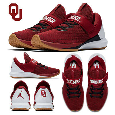 5d083b6c8e4 Jordan Trainer 3 OU Oklahoma Sooners Men's Air Training Shoes Sizes 9.5 -  11.5