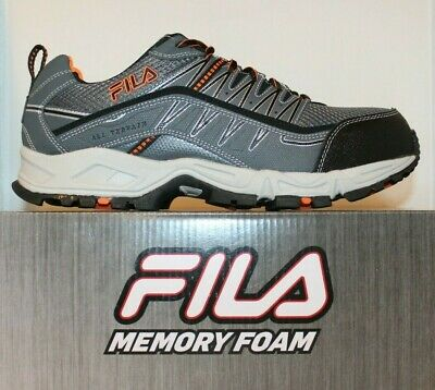 69f95126cc49 Mens Fila Memory At Peake Composite Safety Toe Cushioned Industrial Work  Shoes