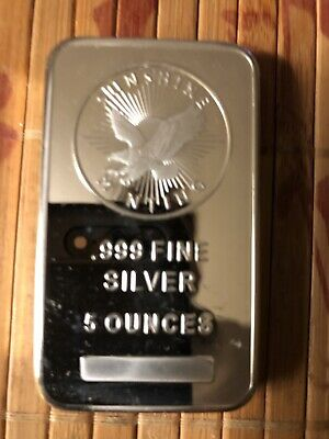 5 Troy oz Sunshine Mint .999 Fine Silver Bar