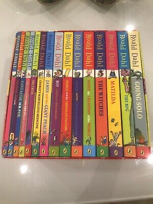 Roald Dahl Phizz Whizzing Collection Box Set X 15 Paperback Books