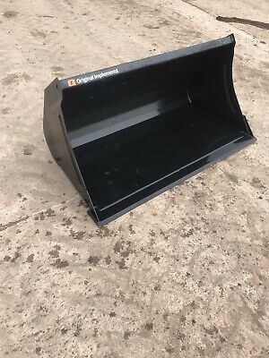 NEW QUICKE LOADER Bucket Euro 8 Brackets 5 Feet Wide