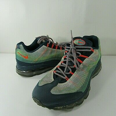 super popular f41d3 0c420 Nike Air Max 95 Mens Dynamic Flywire Green Running Shoes 554715-383 Size  11.5