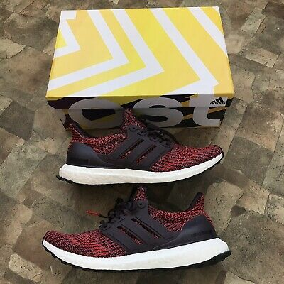 Adidas ultra Boost 4.0 Noble Red Maroon cp9248 Size 9 Excellent Condition 145c65a5b