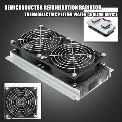 12V 15A Semiconductor Refrigeration Thermoelectric Peltier Water Cooling Device
