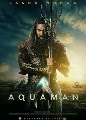 """""""aquaman """" Dvd Pre Sale 3/26 Free Shipping Brand New Factory Sealed"""