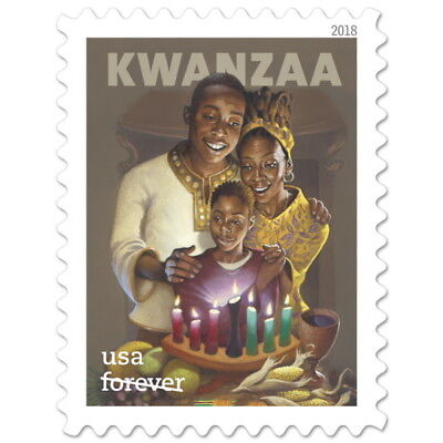 USPS New Kwanzaa  2018  Pane of 20