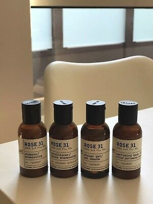 LE LABO Rose 31 Travel Set Brand New Shampoo Conditioner Lotion Shower Gel 40ml
