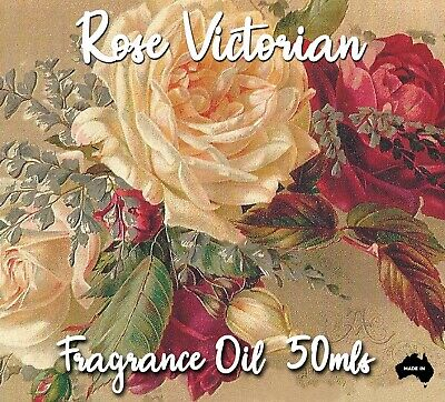 Rose Victorian Top Quality Fragrance Oil, 50 Mls - Candles, Melts, Soaps