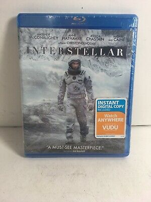 Interstellar [New Blu-ray] Movie