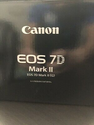 Canon EOS 7D Mark II  20.2MP Digital SLR Camera - Body Like Mint