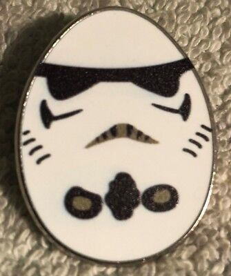 Disney Trading Pin - Storm Trooper From Star Wars Inspired Easter Egg Shaped