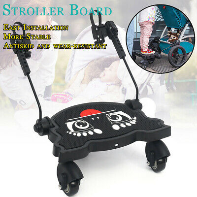 Stroller Buggy Footboard Pedal Pushchair Step Board Stroller Accessory 17*10inch