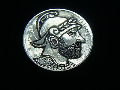 1936-P hobo nickel -GENERAL OF THE EMPIRE - GENUINE CARVING