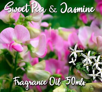 """Top Quality """"sweet Pea & Jasmine"""" Fragrance Oil, 50 Mls - Candles, Melts, Soaps"""