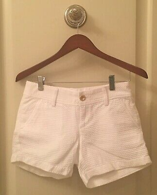 d0934b166b9df5 Lilly Pulitzer Women's Shorts, The Callahan Short, White, Size 00, NWOT