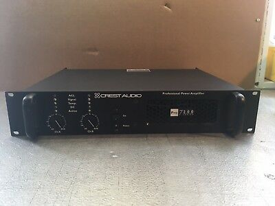 Crest Audio Pro 7200 3300 Watt Power Amplifier - Unit #1 - Great Used Condition