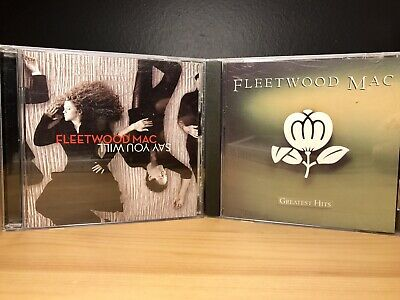LOT OF 2 CDs FLEETWOOD MAC Greatest Hits 1988, Say You Will 2003 Rock Music