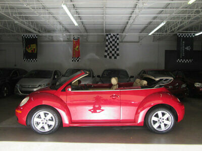 2007 Volkswagen New Beetle Convertible 2dr Automatic PZEV $6500 INCLUDES SHIPPING FLORIDA NONSMOKER CAR GARAGE KEPT 100 PICTURES CLEANCAR