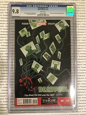 Marvel's Deadpool #19 - CGC 9.8