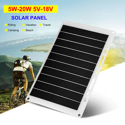 5W/10W/15W/20W Mono Solar Panel For Portable Mobile Power Battery Charger Module