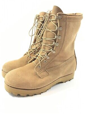 3100754a32d BELLEVILLE BOOTS ICWT 10 W Desert Tan Army Air Force Gore-Tex Cold Weather