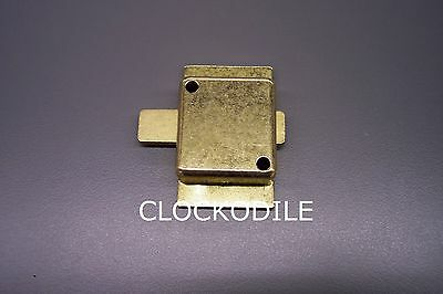 NEW HOWARD MILLER GRANDFATHER CLOCK DOOR LOCK Ridgeway -- parts repair service
